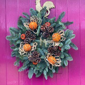 Northumberland Christmas Wreaths for sale Morpeth
