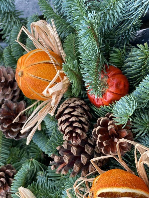 Northumberland Christmas Wreaths for sale Newcastle