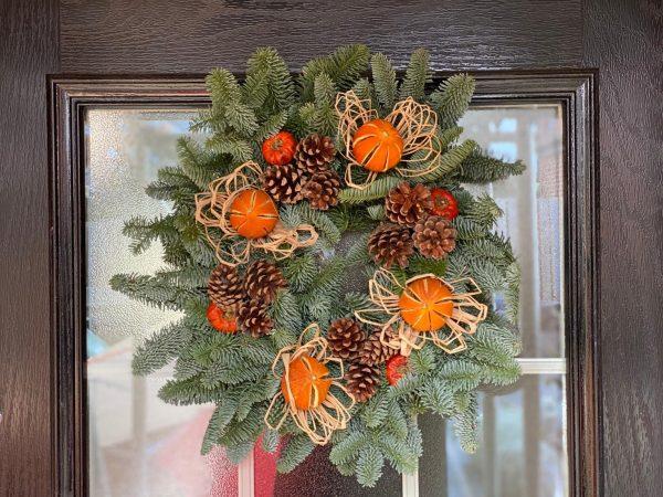 Northumberland Christmas Wreaths for sale Northumberland